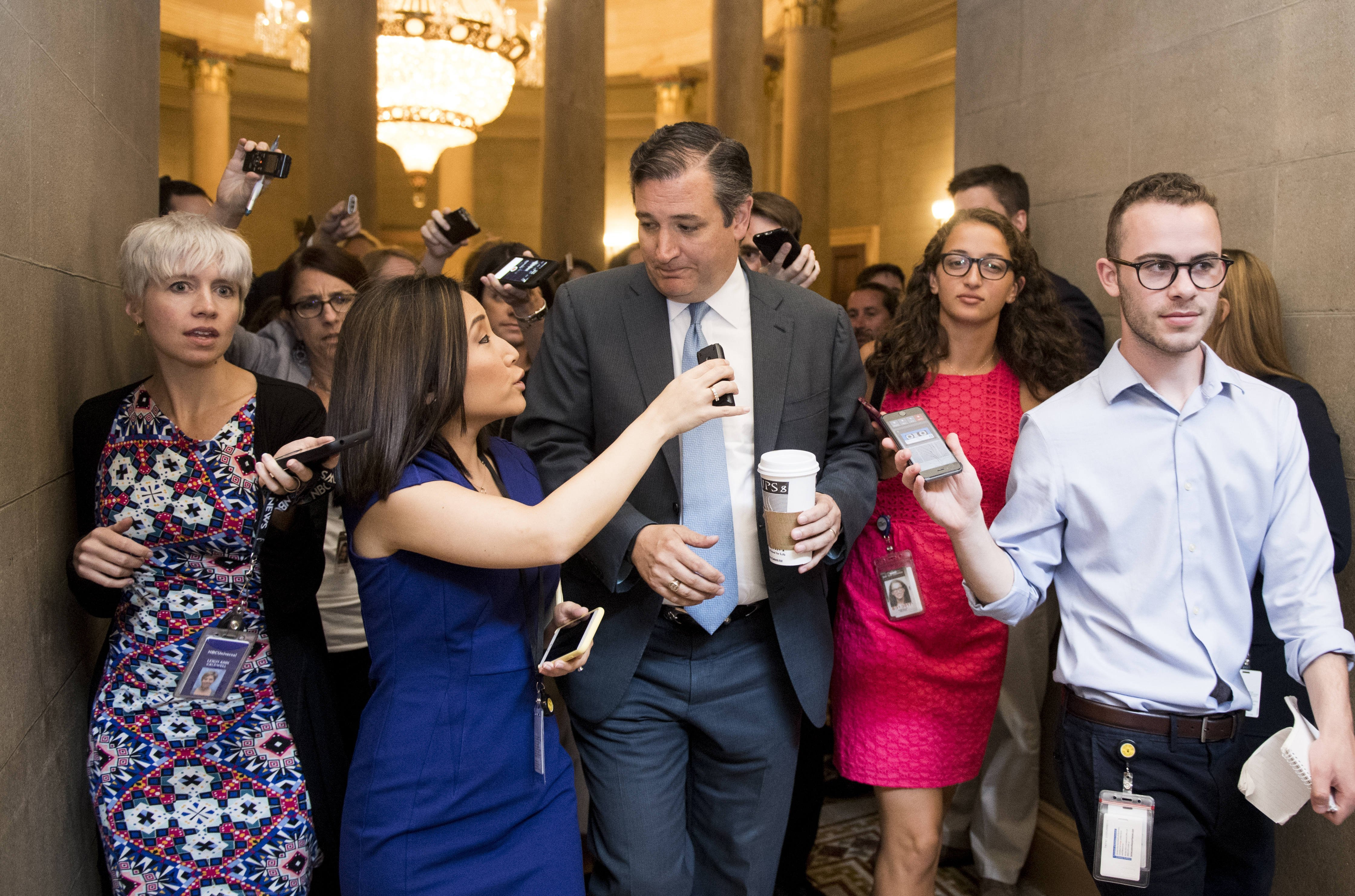 Corrupt Insurance Companies Oppose Ted Cruz Amendment to Repeal Obamacare – Mark Romano – Writer